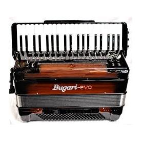 BUGARI EVO HARIA P41 WOODEN fisarmonica digitale