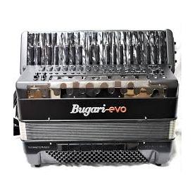 BUGARI EVO HARIA P41 Matt black V-accordion