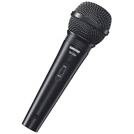 SHURE SV200 dynamic microphone with cable