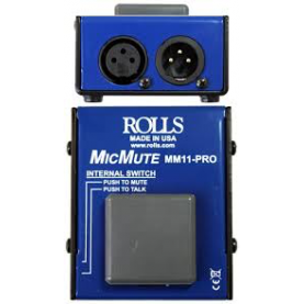 ROLLS MIC MUTE pedale on off microfono