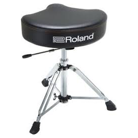 ROLAND RDT SHV Hydraulic Drum Throne Saddle Vinyl