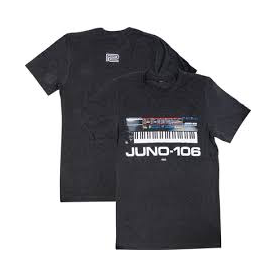 ROLAND JUNO106 T-SHIRT NERA L taglia large