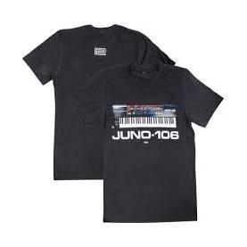 ROLAND JUNO106 T-SHIRT NERA S