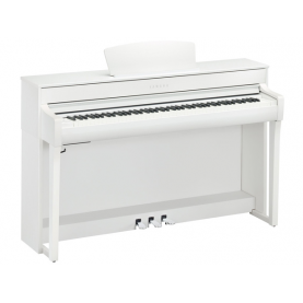 YAMAHA CLAVINOVA CLP735 W digital piano White