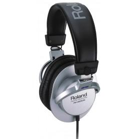 ROLAND RH200S Headphones Closed-back Silver