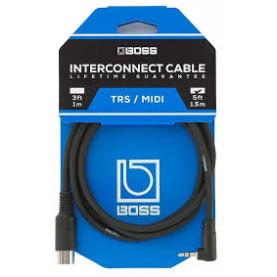 BOSS BMIDI-1-35 TRS/MIDI Cable 200 series
