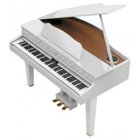 ROLAND GP 607 PW BIANCO LUCIDO PIANO DIGITALE A CODA BIANCO