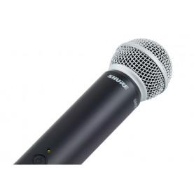 Shure BLXD24/SM58 radiomicrofono