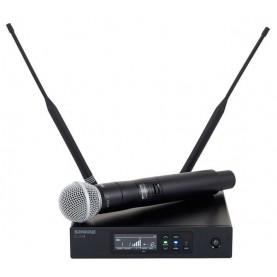 Shure QLXD24/SM58 radiomicrofono