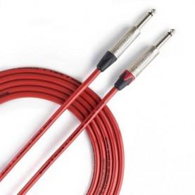 REFERENCE RICS01R JJ Instrument Cable Neutrik Red