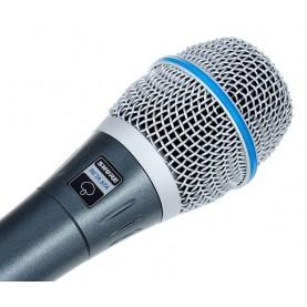 shure beta 87a microfono condensatore