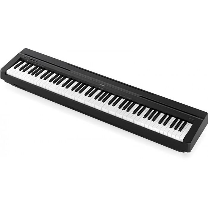 YAMAHA P45 PIANOFORTE DIGITALE 88 TASTI NERO SP.GRATIS