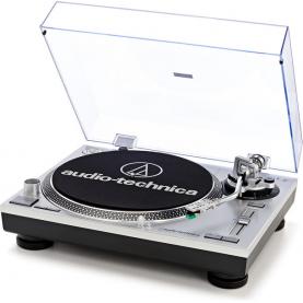 AUDIO TECHNICA AT-LP120X silver giradischi pro