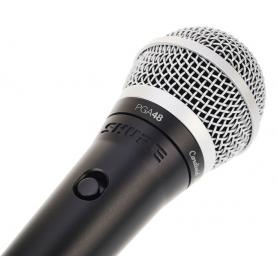 SHURE PGA48 Dynamic Microphone XLR