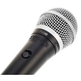 SHURE PGA48 XLR microfono dinamico