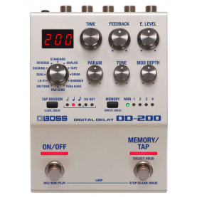 BOSS DD200 DIGITAL DELAY for Electric Guitar