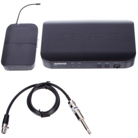 SHURE BLX14/Q25 trasmettitore wireless chitarra cavo WA302