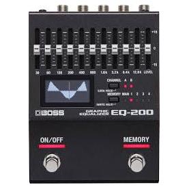 BOSS EQ200 EQUALIZZATORE GRAFICO chitarra e basso