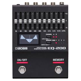 BOSS EQ200 graphic eq.
