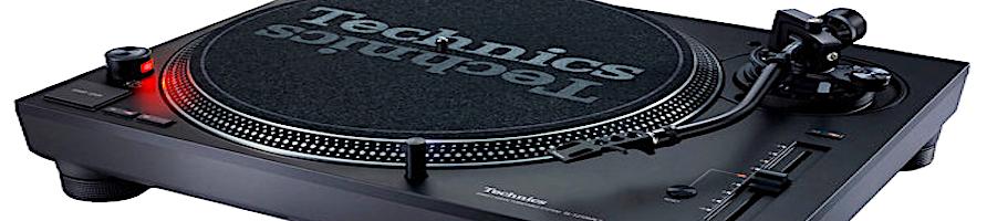 Giradischi e testine per DJ