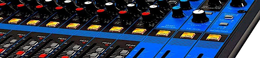 Mixer analogici Moreshow