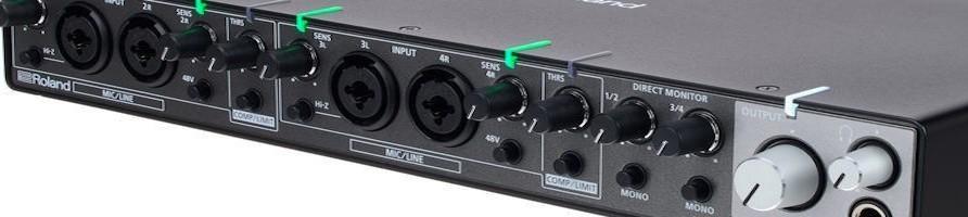 Schede audio/interfacce Midi Moreshow